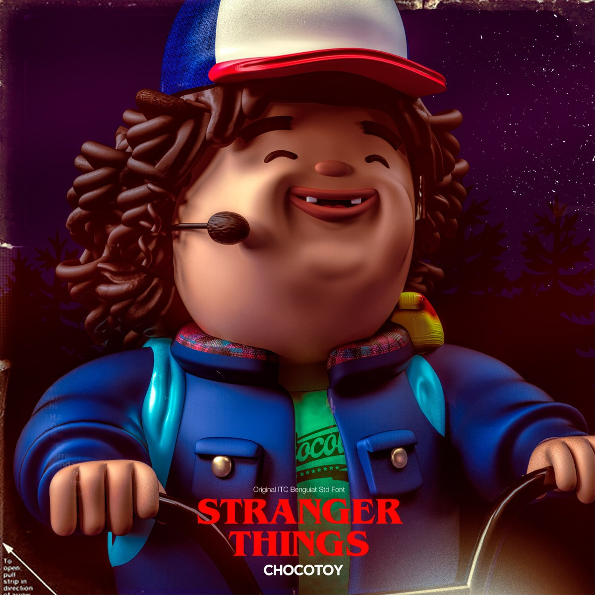 Stranger Things Chocotoys